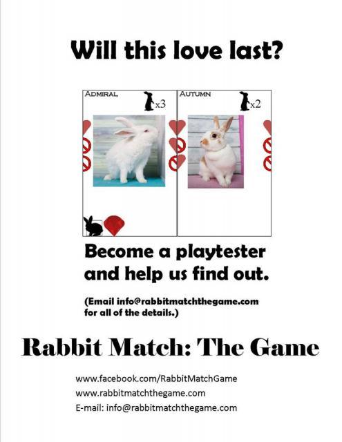 Rabbit Match Playtester Ad