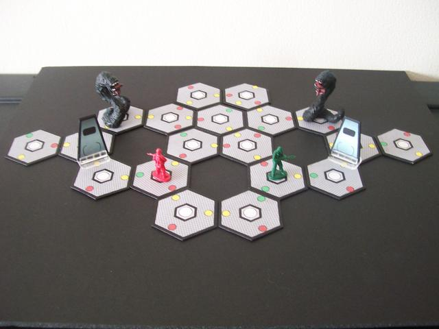 Some  prototype components from one of my games...