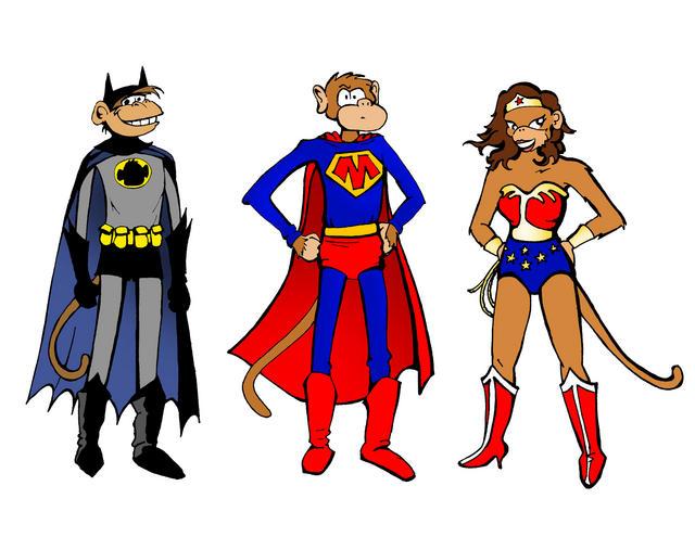 superhero Monkeys