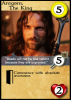 Aragorn Card Sample
