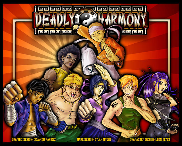 Deadly Harmony: Box Cover