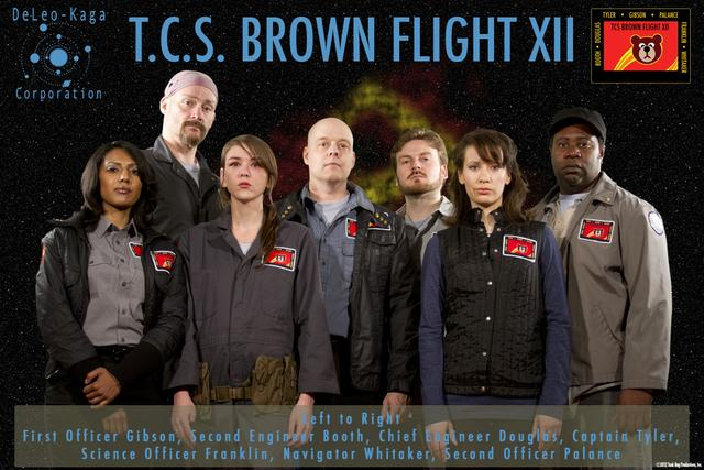 The Crew of the T.C.S. Brown searches for the Specimen