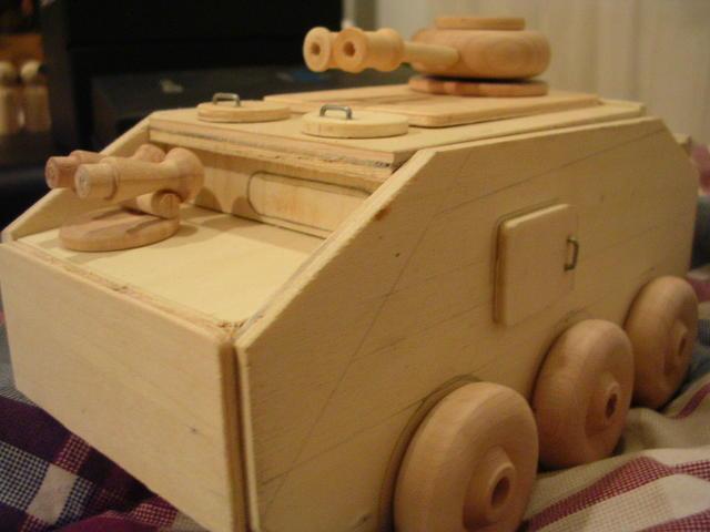 3 T.O.W. Tank