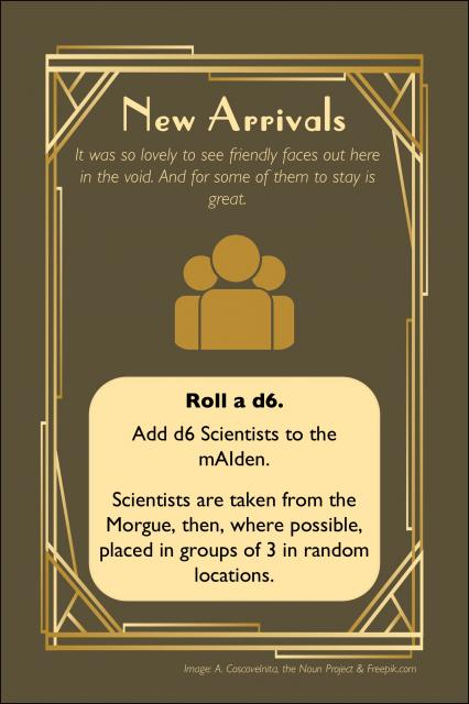 The mAIden Voyage Event Card Example