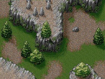 Hex tile graphics for Cavolutia