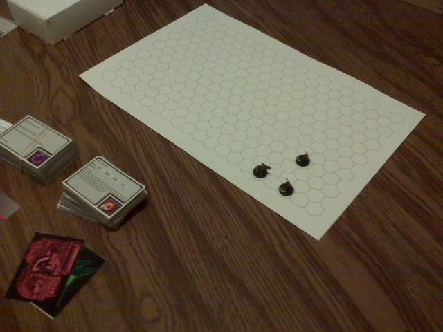 prototype game board