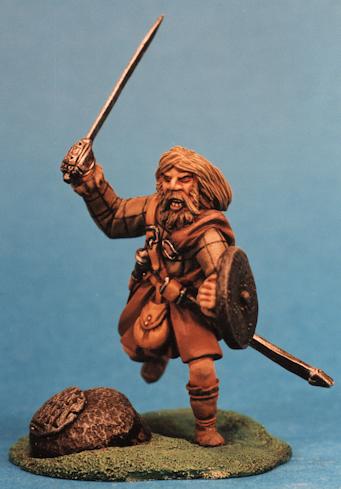 Charging Scots Warrior