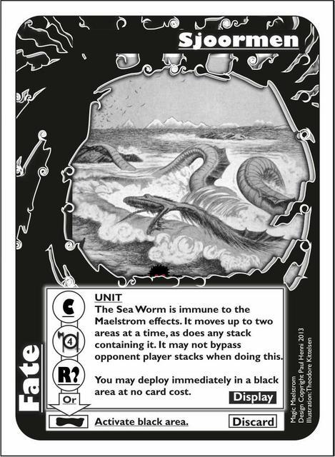 Magic Maelstrom - Revised Fate Card Draft