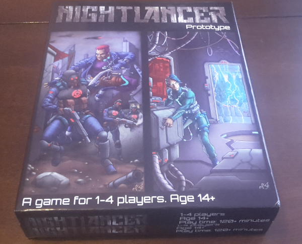 The fresh Nightlancer v19 box.