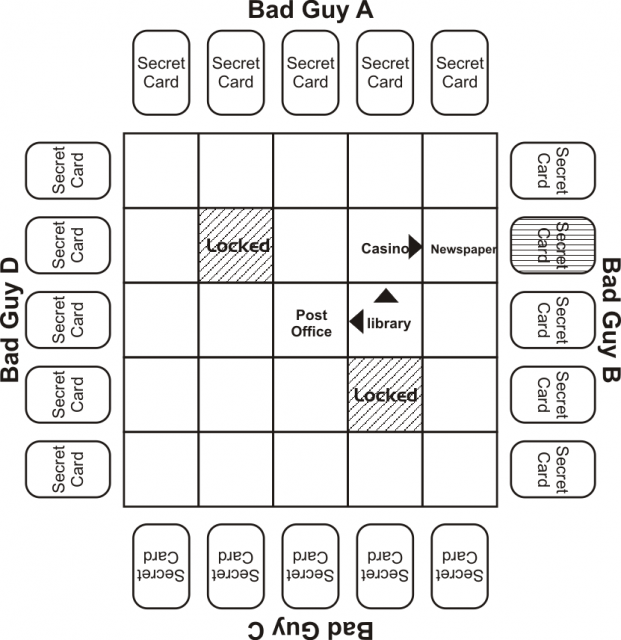 Maze grid investigation step 3