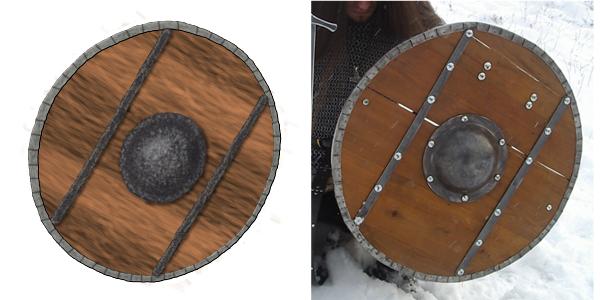 Non-artist art part 2: Shield