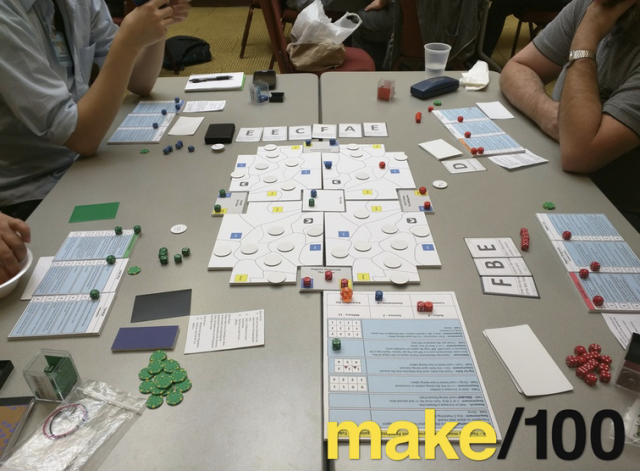 The Game Crafter - TGC is partnering up with Jonathan Gilmour on his new Make/100 Kickstarter campaign