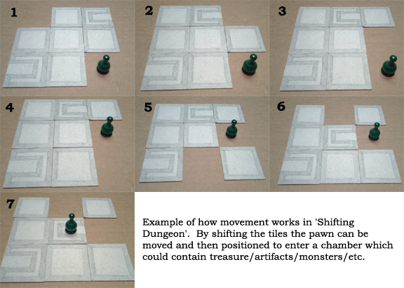 Shifting Dungeon Move Example