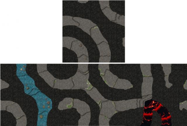 Spelunkers tiles artwork