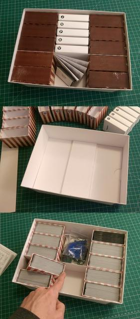 Modular box tray inserts