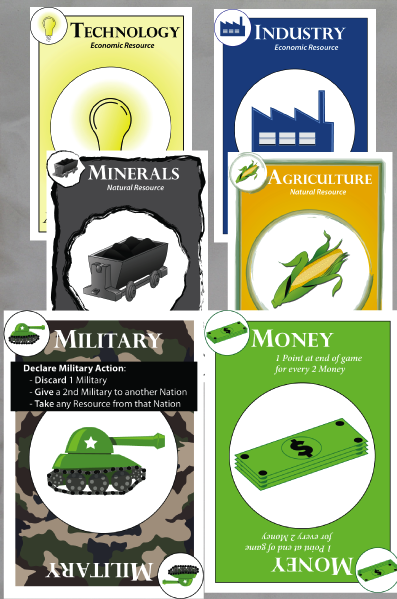Nations of the World cards