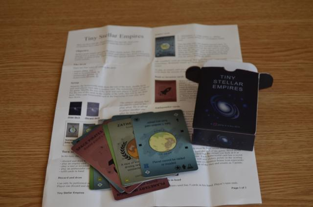 rules, box & some of the cards