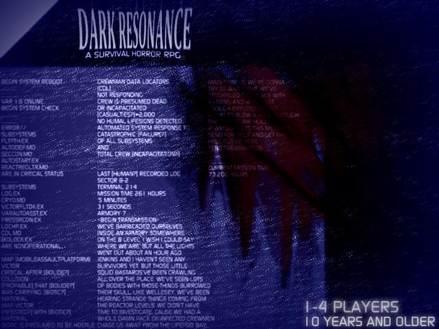 Dark resonance cover