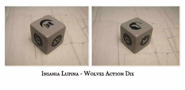 Insania Lupina - Wolves Action Die
