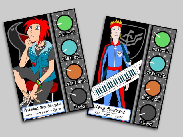 Band Manager Cards Mockup