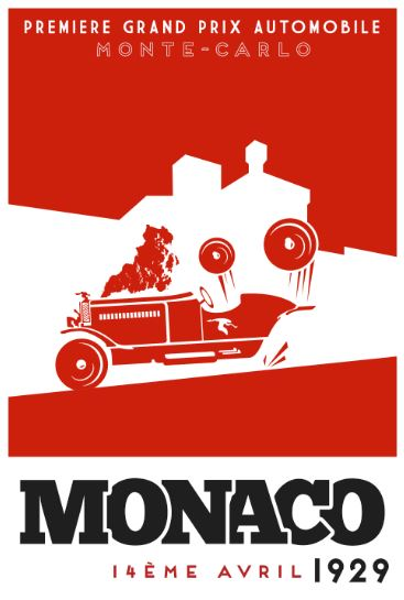 Monaco: 1929 (Box art version 1)