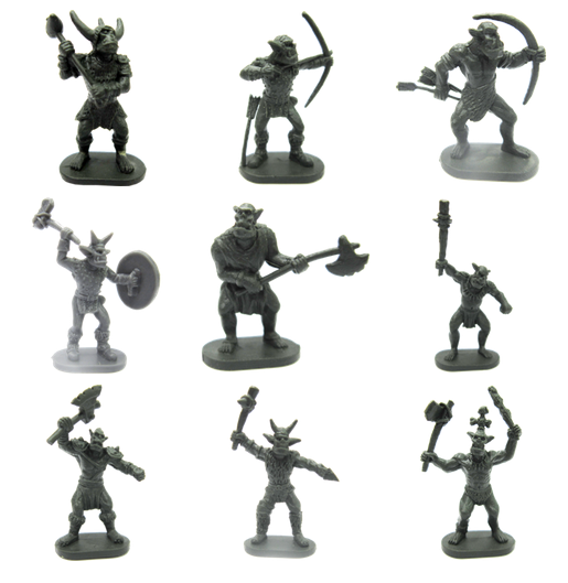 Orc Miniatures Game Parts and Pieces at The Game Crafter!