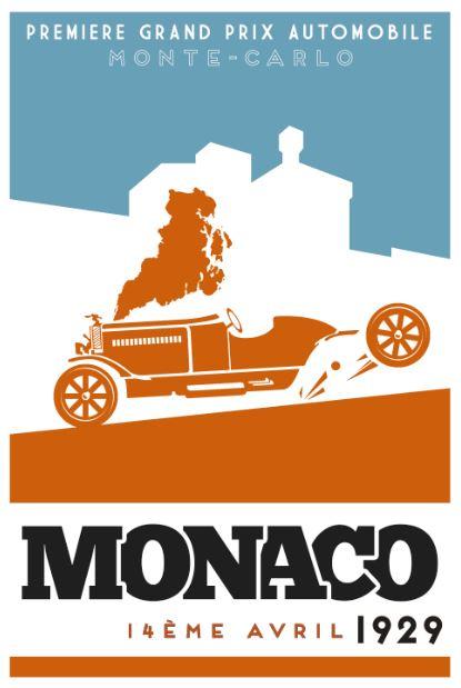 Monaco: 1929 (Box art version 3)