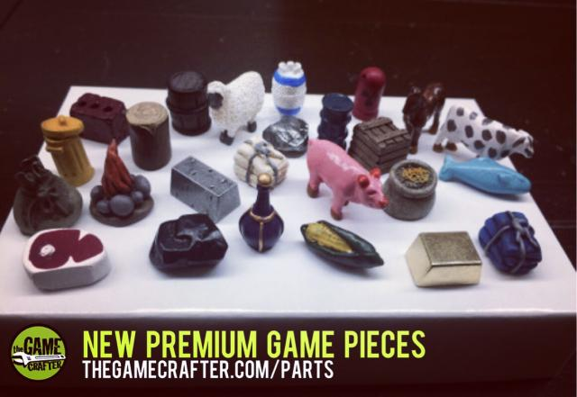 The Game Crafter - We've added new Premium Game Pieces to our Online Parts Shop!
