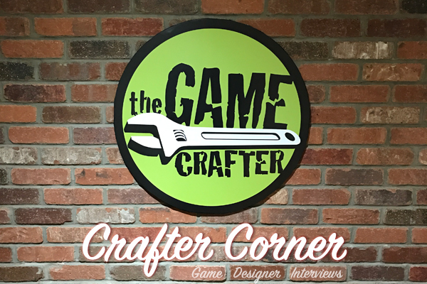 The Game Crafter - Crafter Corner Podcast - Interviews with game designers from The Game Crafter Community