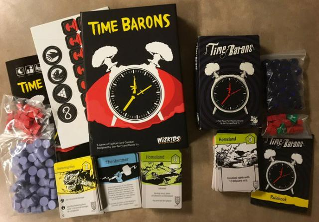 The Game Crafter - Time Barons - Another success story from The Game Crafter community