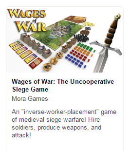 Wages of War - 19mm w/ Sword