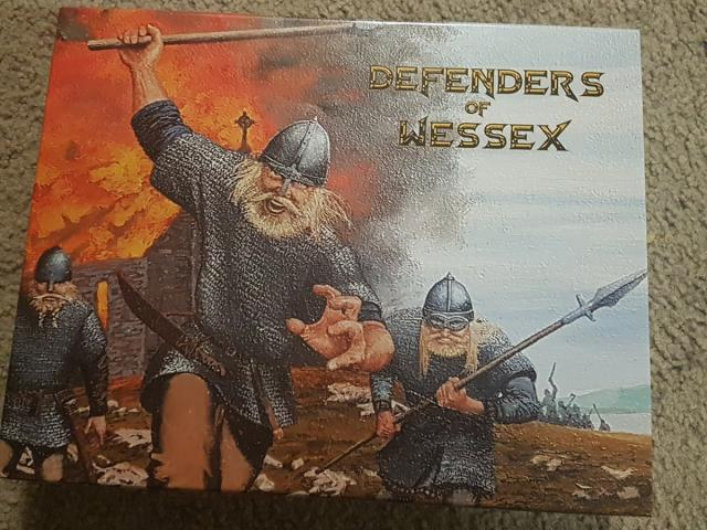 Defenders of Wessex box cover!