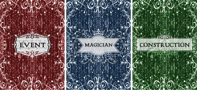 The Illusionist (three deck backs)