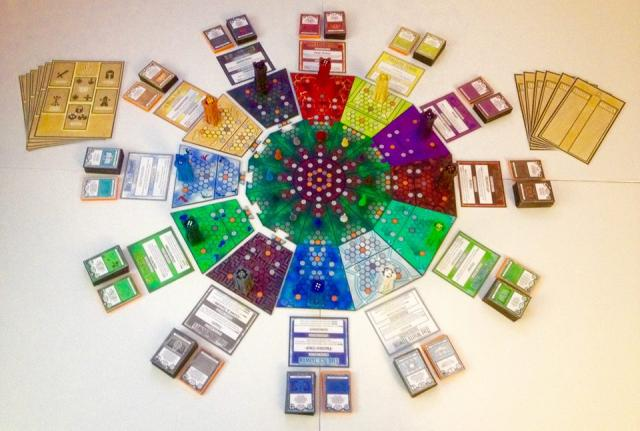 The 12 Towers, 3rd edition prototype