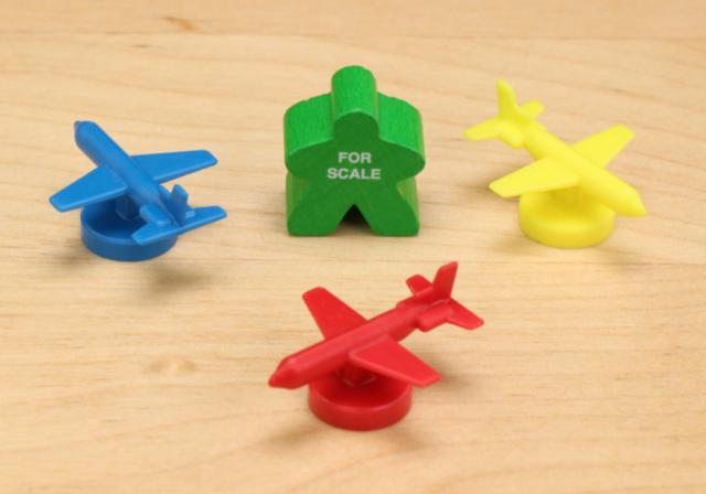 The Game Crafter - Board Game Pieces - Small Airplanes back in stock