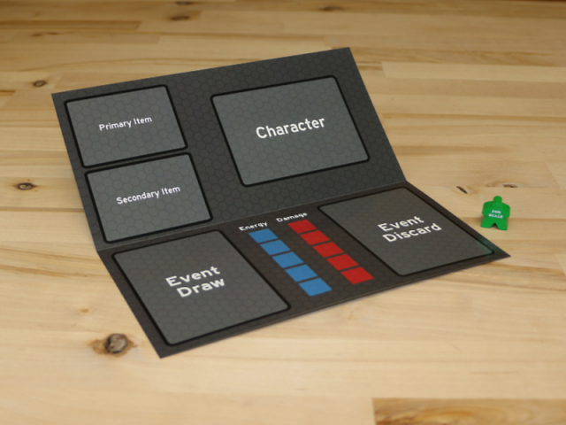 The Game Crafter - Custom Printed Game Components - Bi-Fold Game Mats