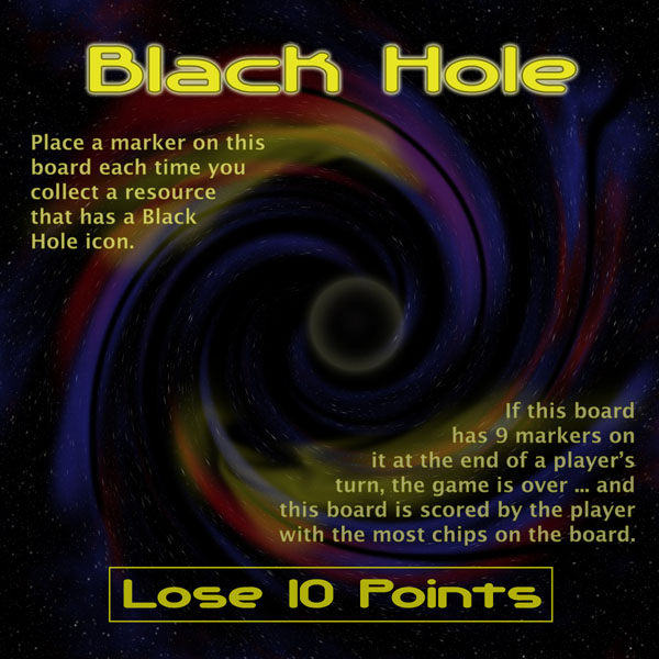 "The Black Hole Board from ""Jump Gate"""