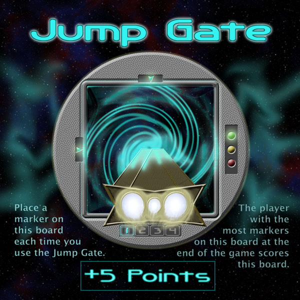"The Jump Gate Board from ""Jump Gate"""