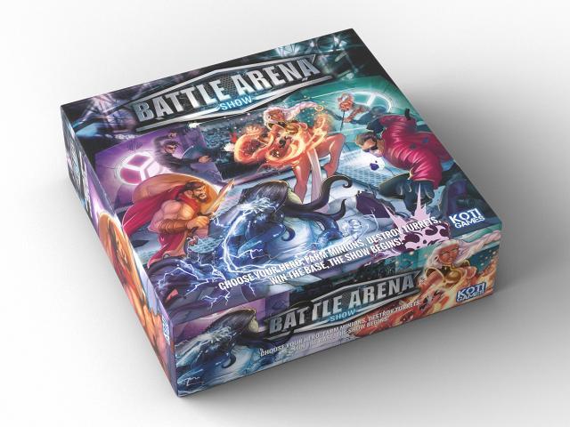 Battle Arena Show's box