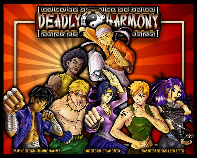 Deadly Harmony: Box Cover