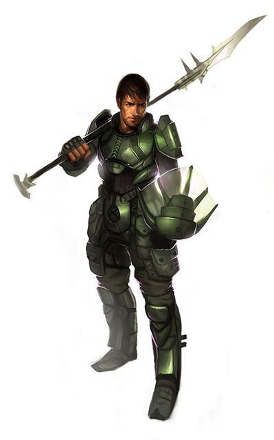 Nih'ki Unit: Human PsiForce Captain