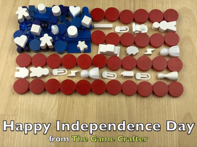 The Game Crafter - Holiday - Happy Independence Day