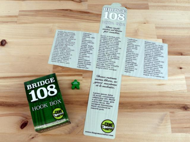 The Game Crafter - Custom Printed Game Components - Hook Box - Bridge 108 Cards