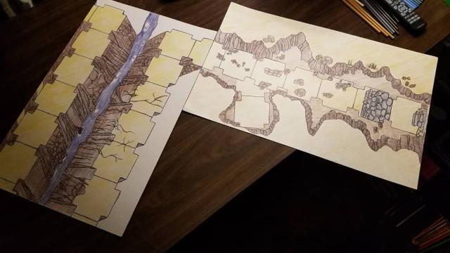 Dymino Monsters Underground Passage