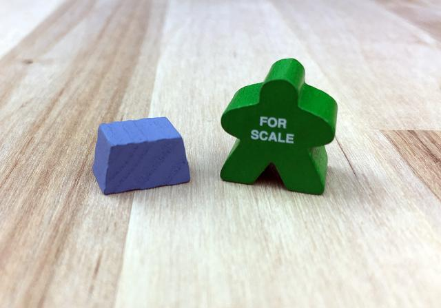 The Game Crafter - Board Game Pieces - Cobalt Ingot