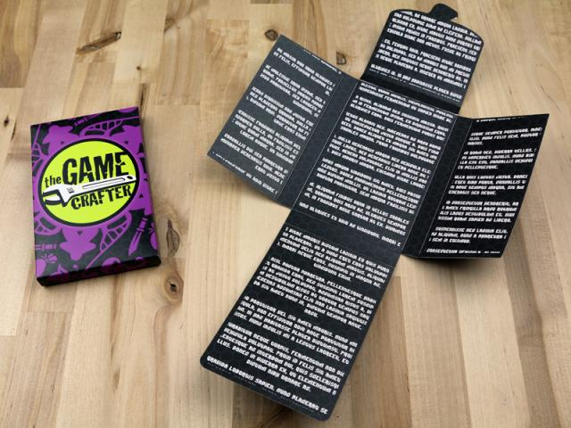 The Game Crafter - Board Game Boxes - Jumbo Hook Box
