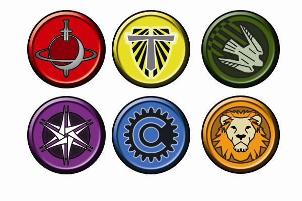 Faction Logos