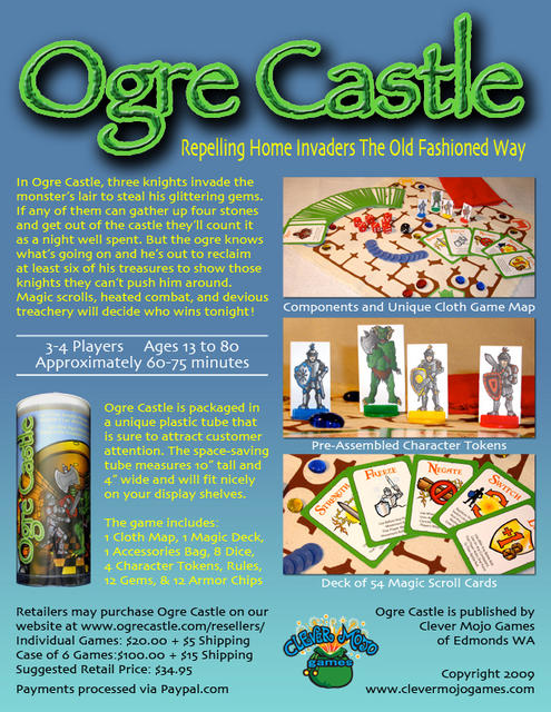Ogre Castle Sell Sheet