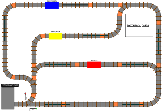 Switchbacks and Sidetracks - First Draft Board