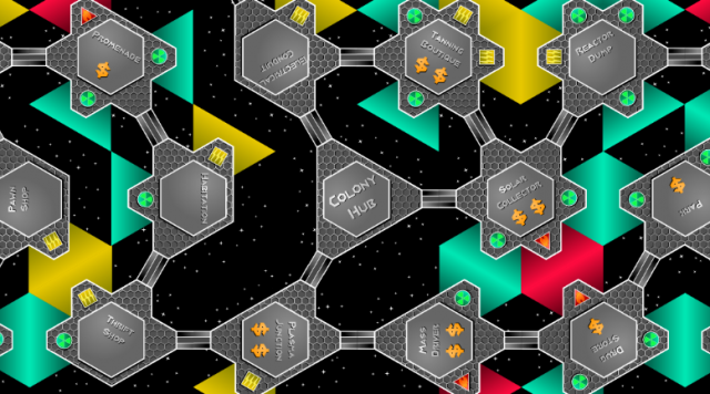 The Game Crafter - Staff Pick - Space Colony Hex (Designed by Andrew Hanson)
